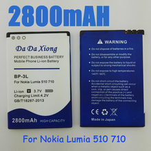 9b4ebfcf867 2800mAh BP3L BP-3L Battery for Nokia Lumia 710 510 603 610C 900 303 603 610  3030 505 cell phone