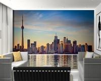 Beibehang Large Photo Mural Wallpaper Water City Architecture TV Bedroom Sofa Wall Design 3d Wallpaper Papier