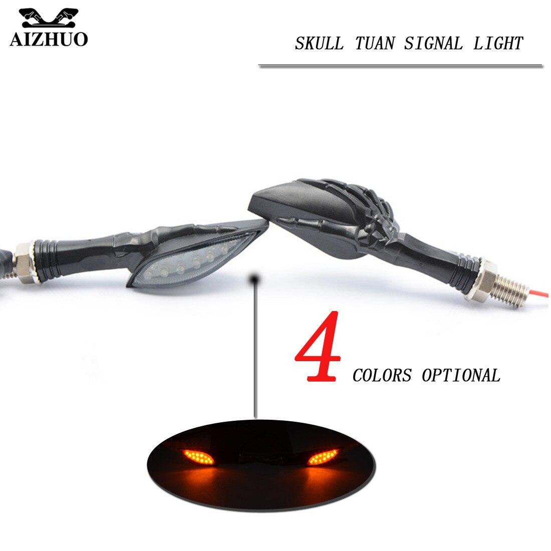 Universal Motorcycle LED Turn Signal Indicators Light for honda ducati Kawasaki suzuki bmw for yamaha YZF-R25V R15 R125 TMAX530