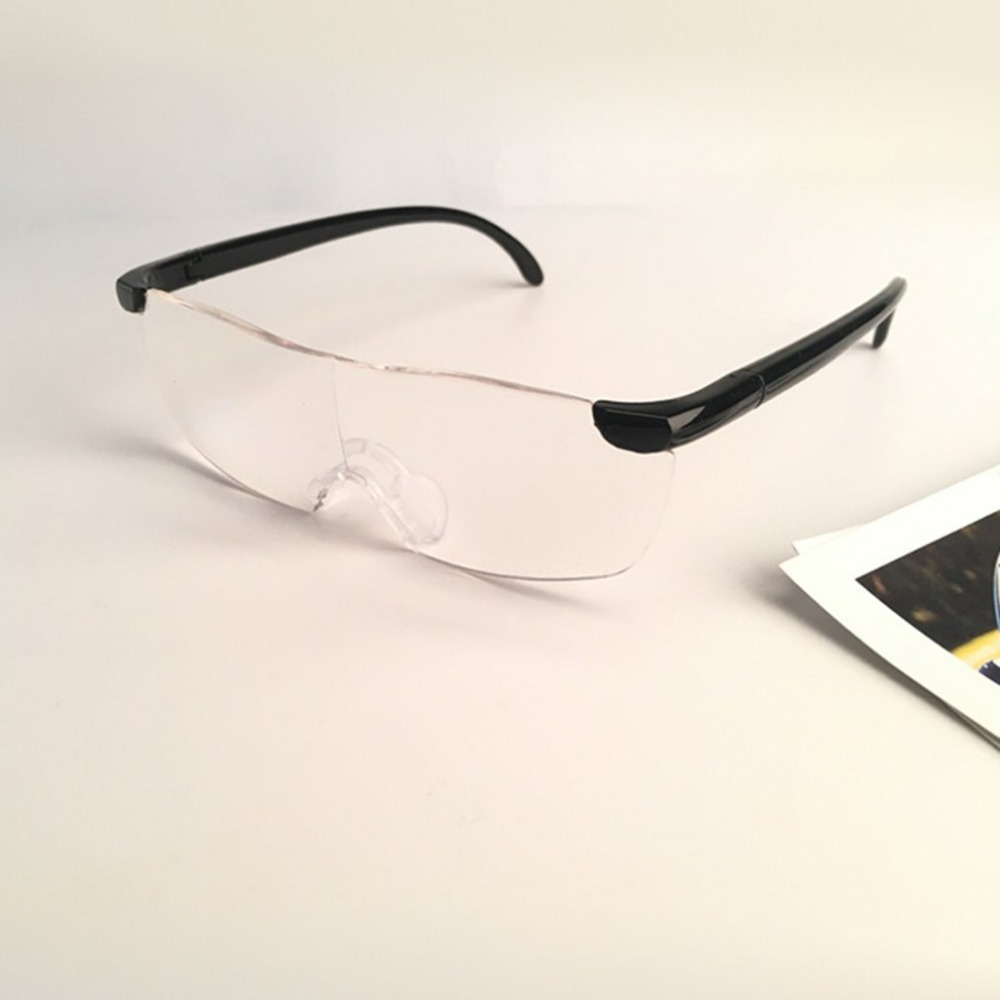 250 Degree Vision Glasses Magnifier Magnifying Eyewear Reading Glasses Portable Gift For Parents Presbyopic Magnification