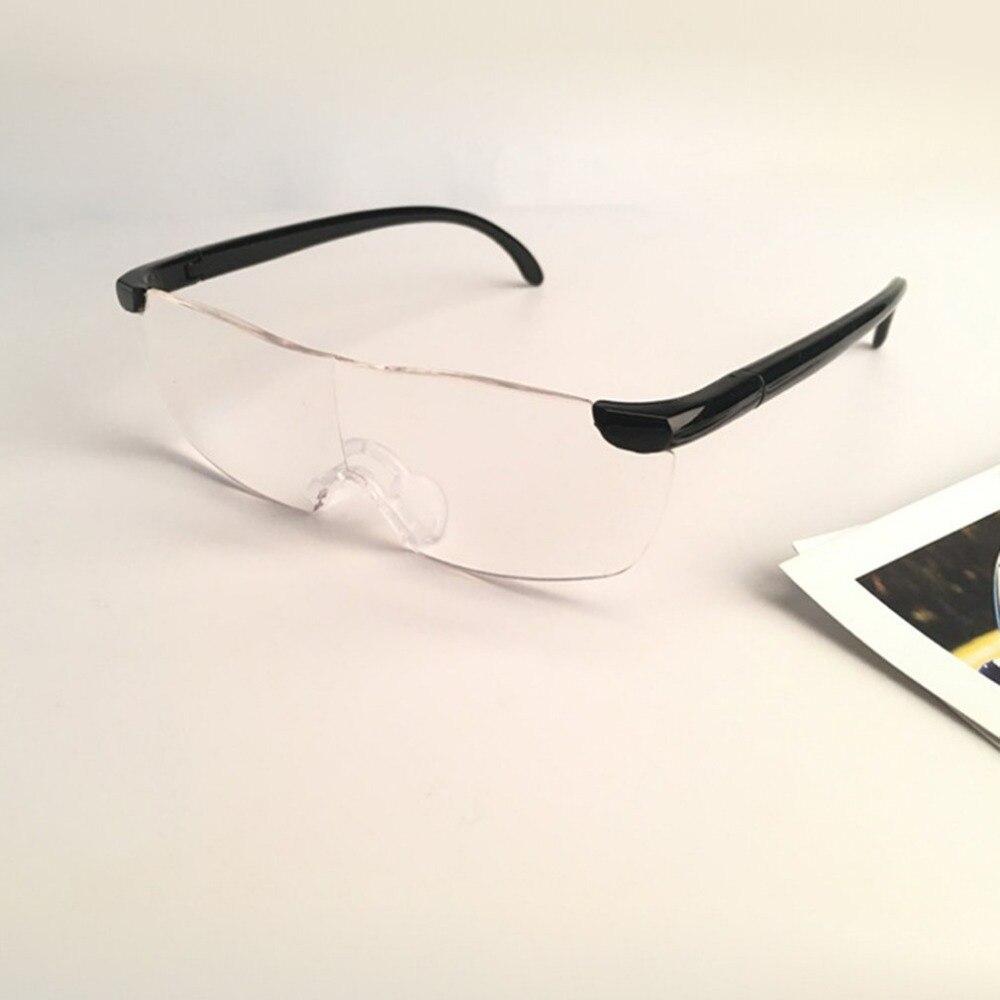 22bef9f8f 250 Graus de Visão Óculos Lupa lupa Ampliação Eyewear Óculos de Leitura  Presbiopia Portátil Presente Para Os Pais