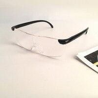 250 องศาแว่นตาแว่นขยายแว่นขยายแว่นตาอ่านหนังสือแบบพกพาสำหรับผู้ปกครอง Presbyopic การขยาย-ใน แว่นขยาย จาก เครื่องมือ บน