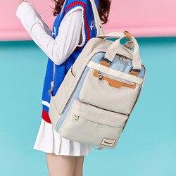Las mochilas de Campus de Nylon impermeable niños mochila para los estudiantes de la Escuela Secundaria de mochilas para niños mochilas, bolsos de las mujeres