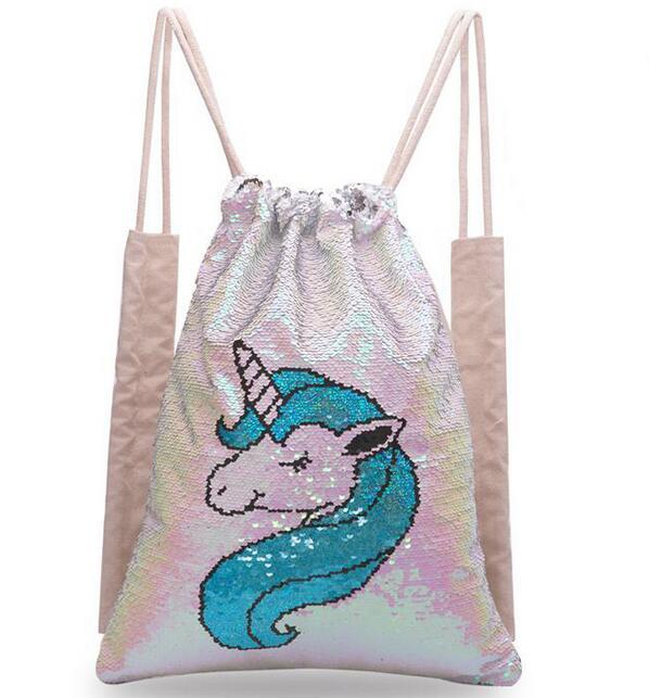 Joyloading 3D Cartoon Unicorn Toy Design Kids Backpack Students Preppy Schoolbag