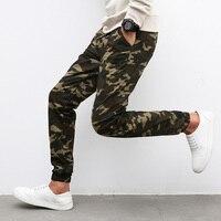 M 5XL 2016 Mens Jogger Autumn Pencil Harem Pants Men Camouflage Military Pants Loose Comfortable Cargo Trousers Camo Joggers