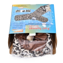 Cat Tunnel Leopard Print Crinkly 3 Ways