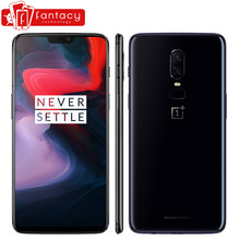 Original OnePlus 6 6GB 64GB Snapdragon 845 Octa Core 6.28'' FHD 20MP+16MP AI Dual Camera Face ID Unlock OxygenOS Smartphone NFC(China)