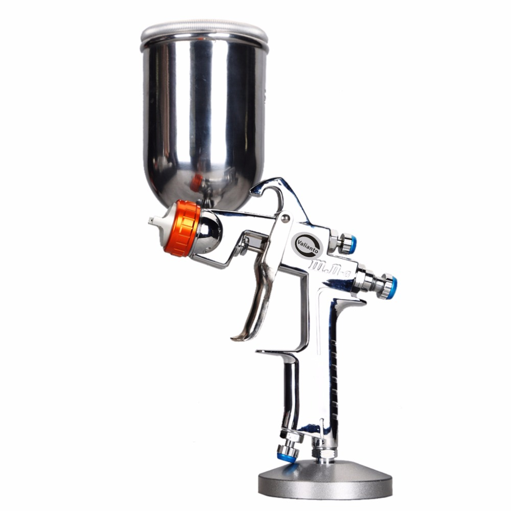 цена на ST-mn-G Pneumatic Gravity Feed Colored Spray Gun Air Tools Paint Sprayer for Painting