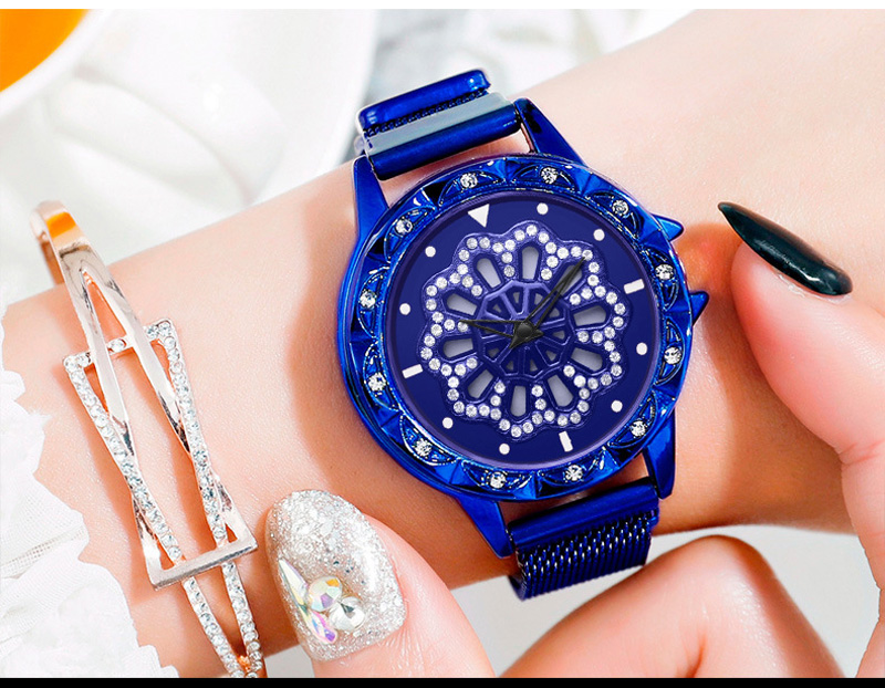 360-degree-rotation-Women-Watch-Mesh-Magnet-Starry-Sky-Ladies-Watch-Luxury-Fashion-Geometric-Quartz-Watch 8