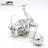 CAMEKOON WT5000/WT6000 Spinning Fishing Reels Aluminium Alloy Machined Powerful Saltwater Surf Reel