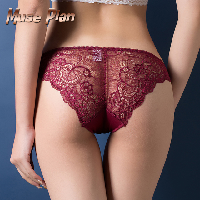 Sexy lace panties seamless cotton breathable panty