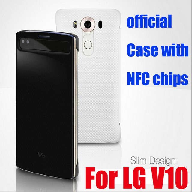 best website bf8ed 37921 US $9.9 14% OFF For LG V10 Original custom wireless charging mobile phone  sets, V10 battery cover, v10 wireless charging + NFC-in Half-wrapped Cases  ...