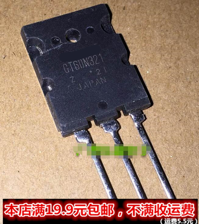 10pcs/lot GT60N321 IGBT 1000V 60A 170W TO3P IC Best quality In Stock-in Integrated Circuits from Electronic Components & Supplies