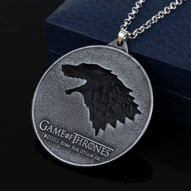 Stainless Game of Thrones House Stark Necklace