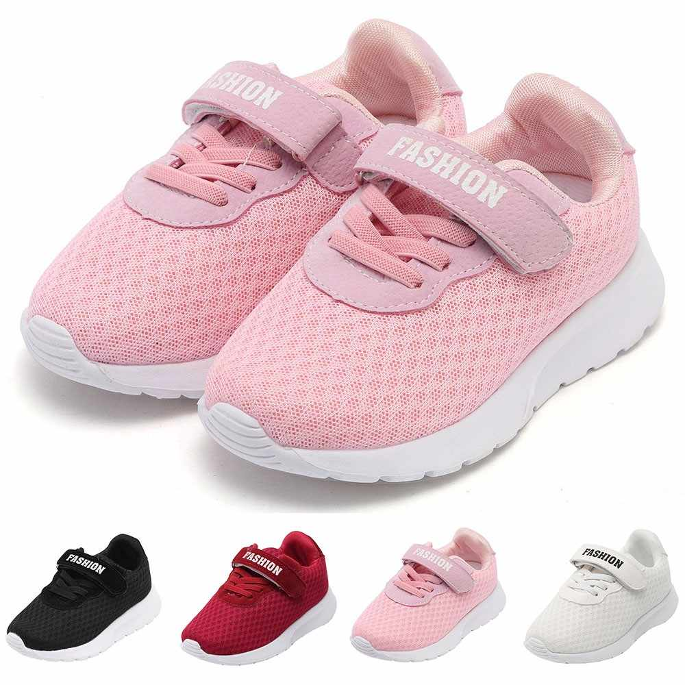 0a7798e9776 Baby Girl Boys Shoes Warm Winter Letter Sport Running Breathable Mesh  Sneaker Child Casual Baby Shoes