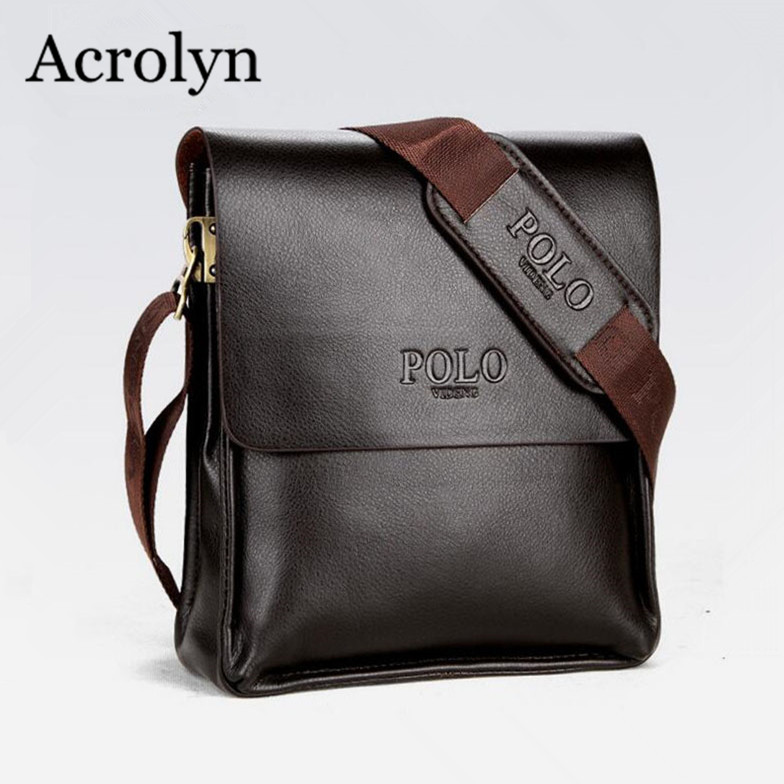 Men Shoulder Bag Brand Design Handbag Leather Business Briefcase Men's Casual Messenger Bags