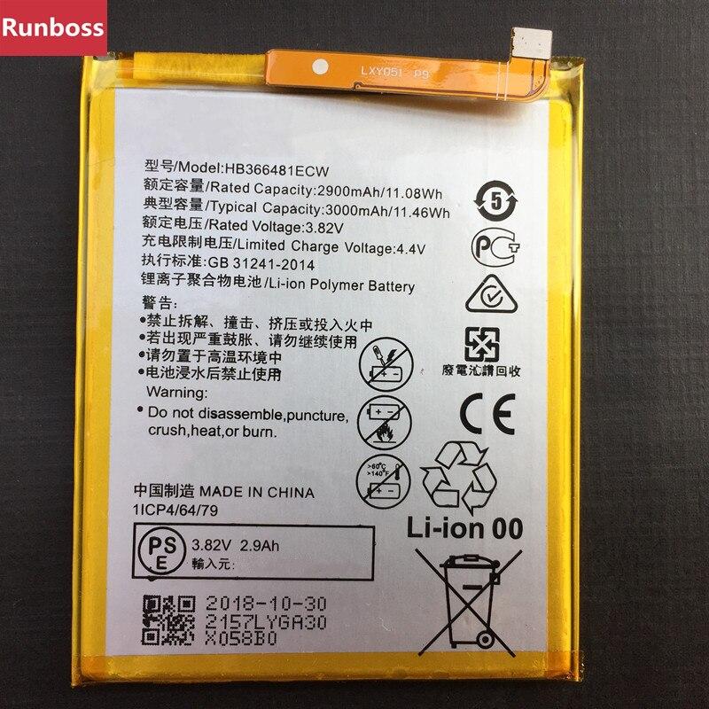 Pour la nouvelle batterie originale HB366481ECW 3000 mAh pour Huawei Honor 7A Pro AUM-AL29 AUM AL29 batteriePour la nouvelle batterie originale HB366481ECW 3000 mAh pour Huawei Honor 7A Pro AUM-AL29 AUM AL29 batterie