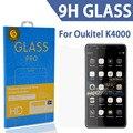 Tomoral para oukitel k4000 cubierta de la película del protector de pantalla de cristal templado anti-suciedad irrompible para k4000 pro mtk6735p quad core