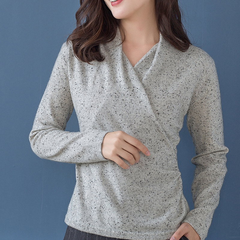 Hot Sale Women Pullover 100 Pure Cashmere Knitted Sweater Winter Dot Fashion Knitwear ladies New Fashion