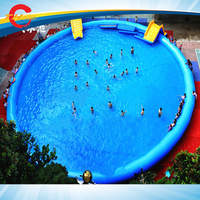Free shipping to door inflatable pool outdoor large type swimming pools