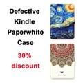 Дефекты Kindle Paperwhite Чехол Кожи, Освещенные Тонкий Кожаный Чехол Подходит Kindle Paperwhite2013 2015 2016 6-го поколения