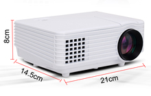 1800lumens Mini LED Projector Portable LCD 3D home Cinema Proyector 1080P Digital Video TV Beamer with HDMI TV VGA AV USB
