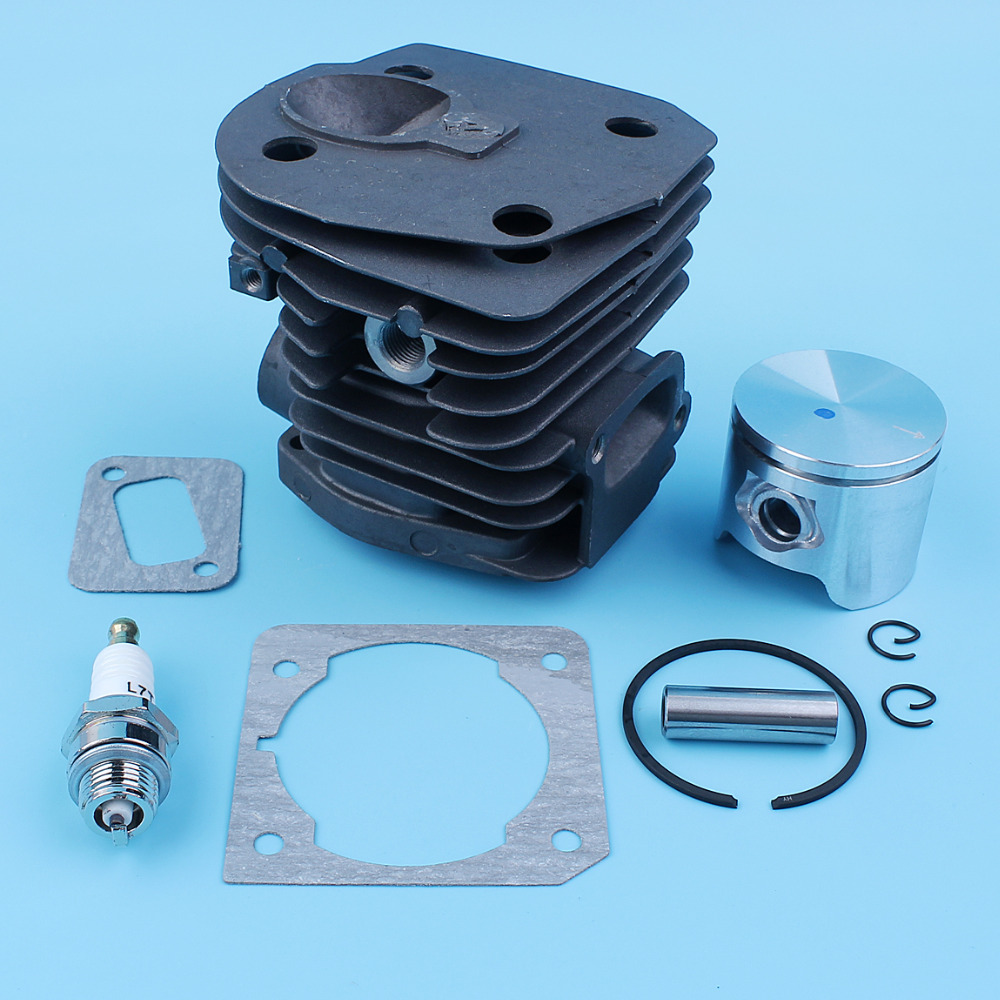 Tools : 44mm Cylinder Piston Ring Pin Gasket Set For Jonsered CS 2149 2150 2152 2153 Chain Saw 503 86 99-71 Nikasil Plated
