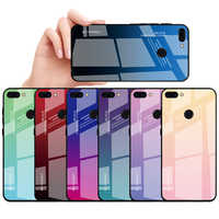 100PCS/Lot Glass Cover For Huawei Nova 4 3 3i Mate 20 Lite 20Pro Mate10 Lite 10Pro Gradient Color Tempered Glass Case