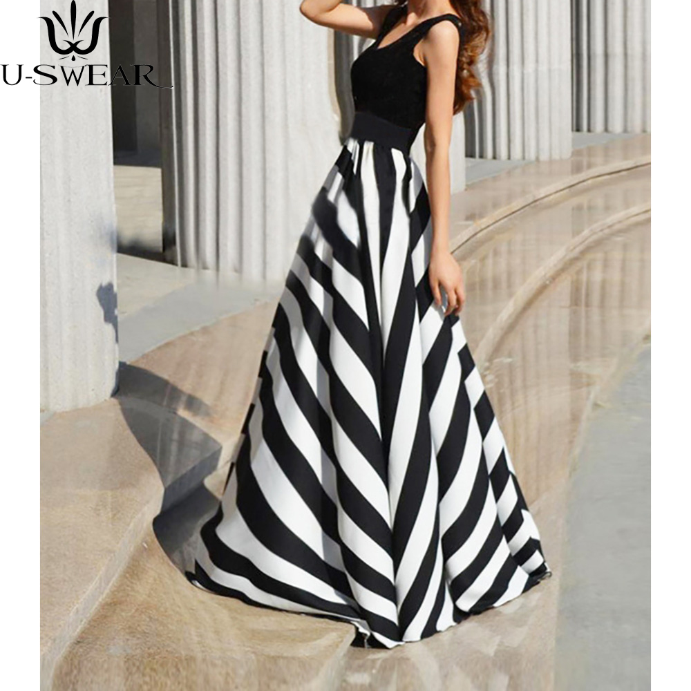 Image result for Fanteecy Clearance Women Summer Beach Boho Sleeveless Long Tank Dress Striped Floral Plus Size Maxi Party Sundress