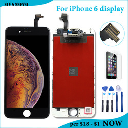 4.7 inch AAAA LCD For iPhone 6 Display Touch Screen Digitizer Assembly for iPhone 6 6G A1549 A1586 A1589 LCD Screen Replacement