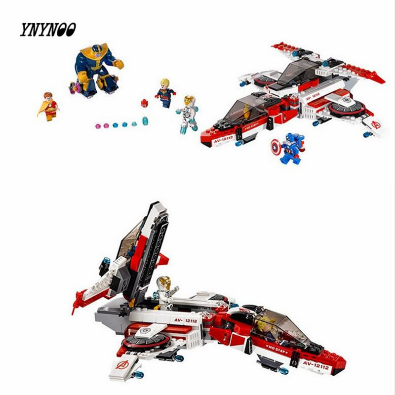 YNYNOO New 07022 LEPIN 552pcs Super heroes friend Captain America Jet-propelled aircraft iron Man Building Blocks brick Toys samsung rs 552 nruasl