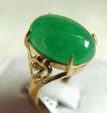 จัดส่งฟรี>>>@@ขายส่งราคาถูกแท้สีเขียวหยกแหวนเกรดAAAขนาด6 7 8 9/ฟรีA