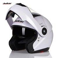 NEW ARRIVE DOT JIEKAI 105 Flip Up Motorcycle Helmet Motocicleta Casco Helmets Motorcross Racing Helmet M
