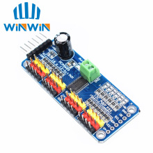 10pcs/lot 16 Channel 12-bit PWM/Servo Driver-I2C interface PCA9685 module or Raspberry pi shield module servo shield