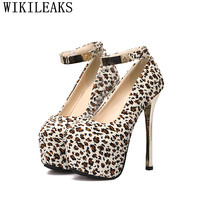 Designer Platform Shoes Woman Mary Jane Extreme High Heels Luxury Brand Ladies Party Wedding Shoes Sexy