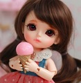 bjd / sd 1/8 doll lati yellow Lami gbelle sbelle luna  Sophie lea happy sunny