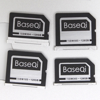 BASEQI Aluminum 128GB Storage Expansion Card for MacBook Air 13 and MacBook Pro 13/15 (Non Retina)