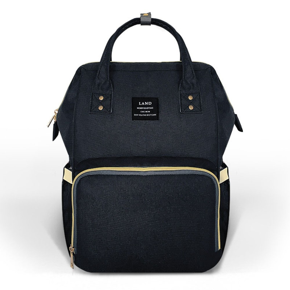 LAND Mommy Diaper Bag Large Capacity Baby Nappy Bags Desiger Nursing Bag Fashion Travel Backpack Baby Care Bebe Bag For Mom цена 2017
