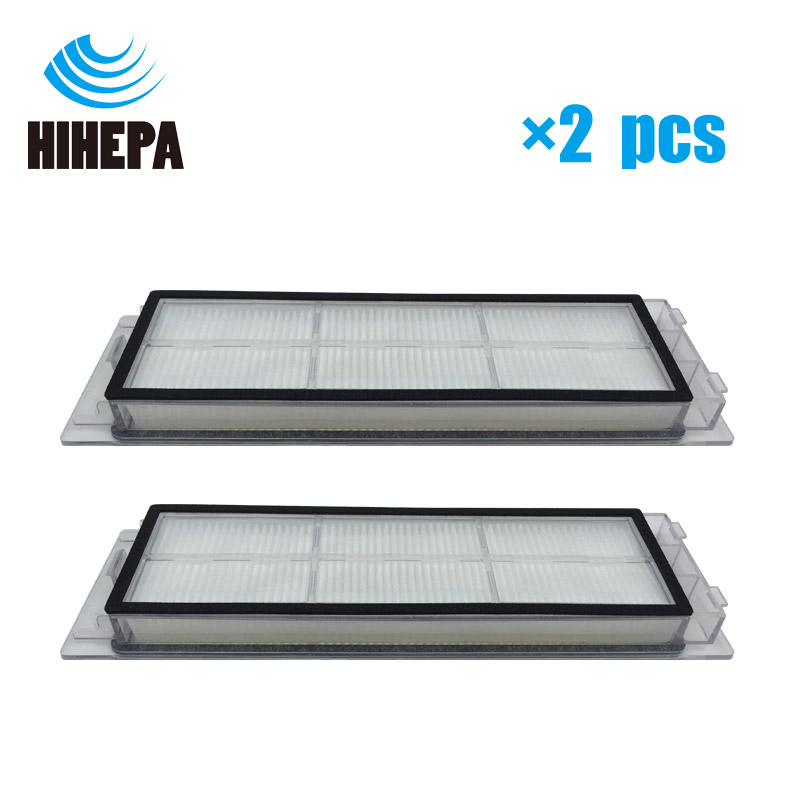 2 pcs Upgraded version Genuine Washable HEPA Filters for XiaoMi Mijia 1st/2st Roborock Sweeping Robot Vacuum Parts Replacement цена