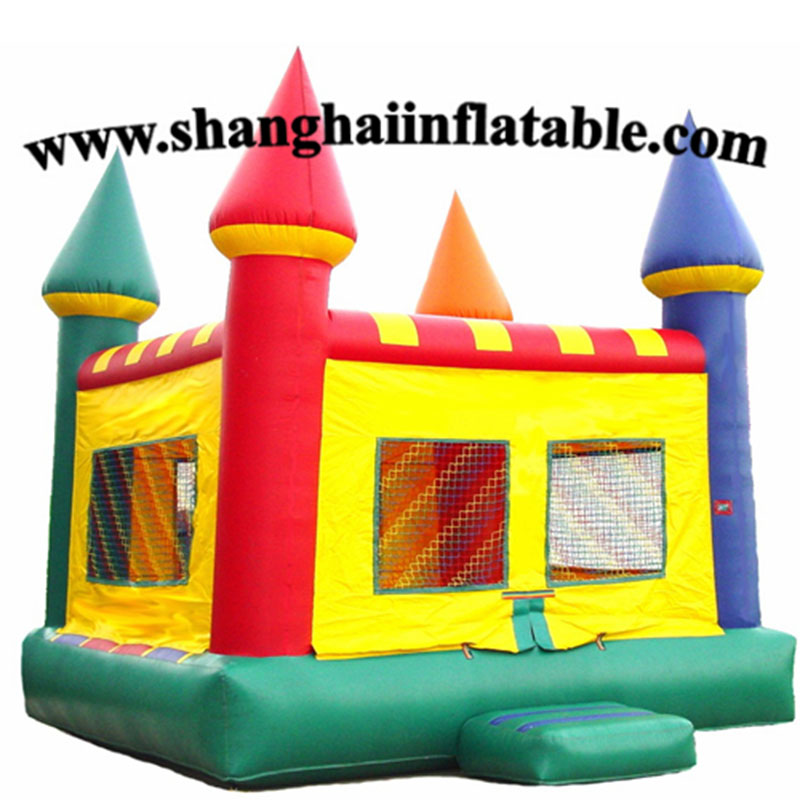 Aire de jeux intérieure de maison de rebond de château gonflable d'équipement de jeu mou Commercial à vendre
