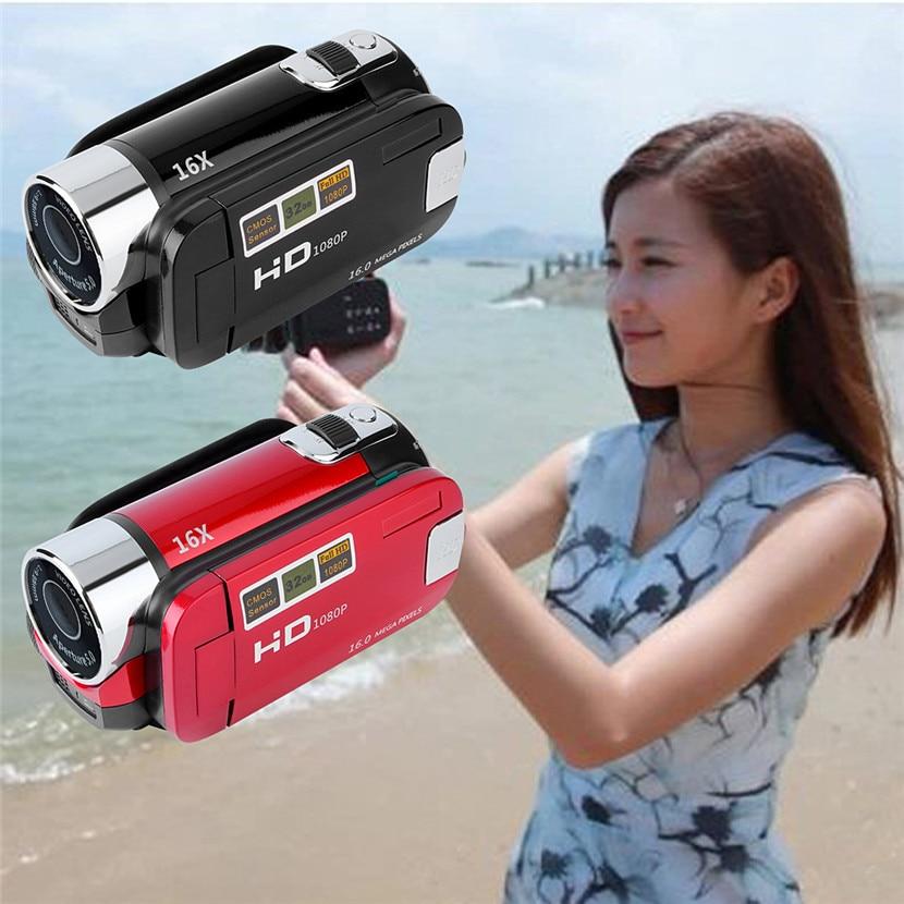 Mini Portable 2.7 Inch Digital Video Camera Camcorder TFT LCD Screen Full HD 720P 16x Zoom DV Camera COMS Video Recoding