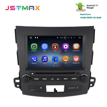 JSTMAX 8″ Android 7.1 Car DVD GPS Player Navi for Mitsubishi Outlander 2007+with 2GRAM+16 Quad Core Auto Radio Multimedia HDMI