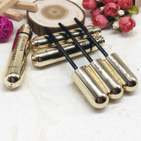 10 20 50pcs Empty Plastic Gold Cosmetic Mascara Tube Refillable Package Container Eyelash Bottle Vials New