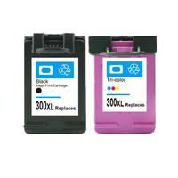 2x Ink Cartridge Replacement for hp300 XL CC640E, CC643E Compatible For HP Printer Inkjet Cartridge