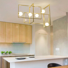 Modern Demir Cam VeniceM Kolye Lamba LED Lampadario iluminaria ışık oturma yemek odası için