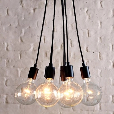 Moderno Bulbi In Vetro Lampade A Sospensione Living Room Dinning