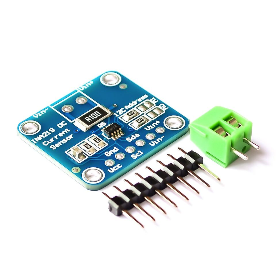 5X CJMCU-219 INA219 I2C Bi-Directional Current Power Monitor Sensor Module AT2