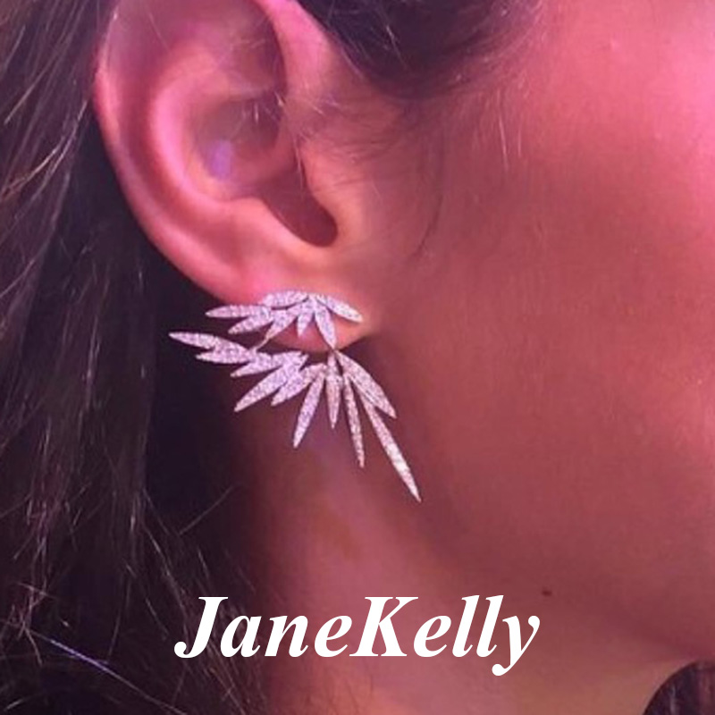 jane kelly Angel Brilliant Elegane Big Stud Earrings for Women Earring Fashion Jewelry brincos Ohrringe Boucle D'oreille-in Stud Earrings from Jewelry & Accessories on Aliexpress.com | Alibaba Group