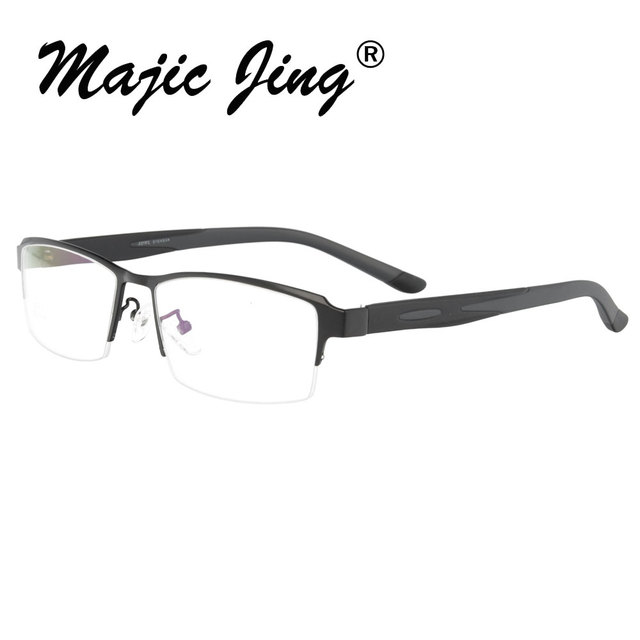 Metal  Eyeglasses Frame with TR temple for Men clip glasses on eyeglasses on sunglasses clip on   sunshade  S9317