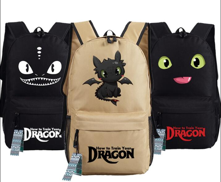 Dragon Master How To Train Your Dragon Aberdeen Cosplay Backpack School Computer Bag Gift Xmas #1